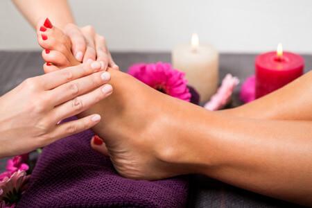 European Day Spa of Fredericksburg Foot Massage